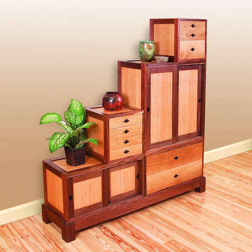 View a Larger Image of Woodworking Project Paper Plan to Build Tanzu Storage Chest