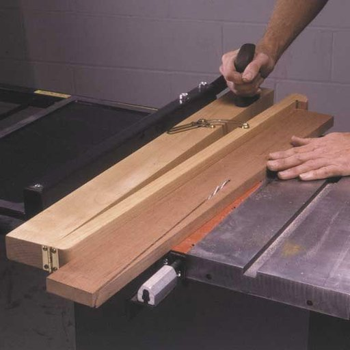 View a Larger Image of Woodworking Project Paper Plan to Build Tapering Jig
