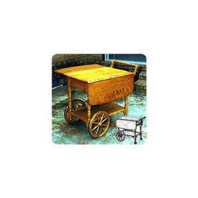 Woodworking Project Paper Plan to Build Tea Serving Cart