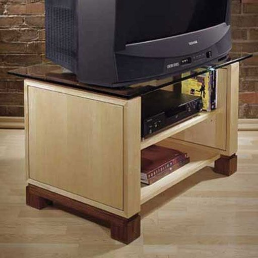 View a Larger Image of Woodworking Project Paper Plan to Build Television Stand