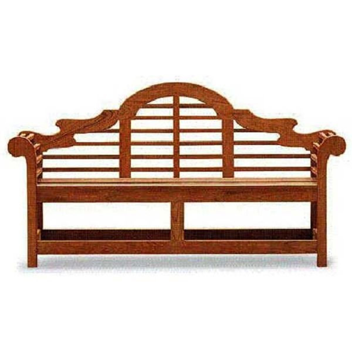 American Furniture Design Woodworking Project Paper Plan To Build The Lutyens Garden Bench Afd279