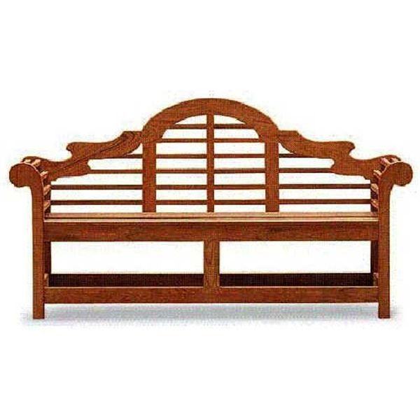 View A Larger Image Of Woodworking Project Paper Plan To Build The Lutyens  Garden Bench,
