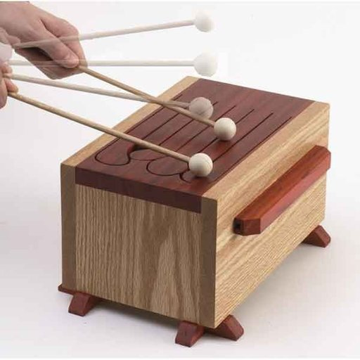 View a Larger Image of Woodworking Project Paper Plan to Build Tone-of-Fun Tongue Drum