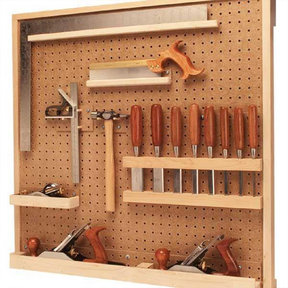 Woodworking Project Paper Plan to Build Tool Board Organizer