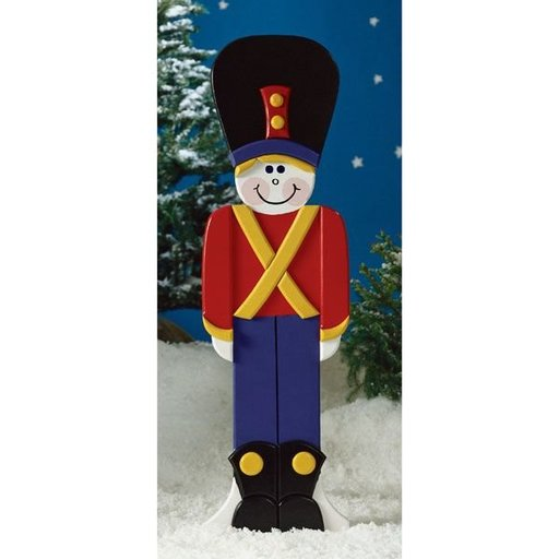 View a Larger Image of Woodworking Project Paper Plan to Build Toy Soldier