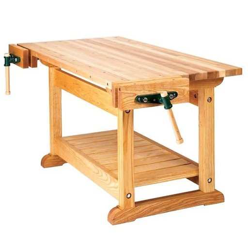 View a Larger Image of Woodworking Project Paper Plan to Build Traditional Workbench