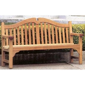 Woodworking Project Paper Plan to Build Tudor Bench Seat, AFD280