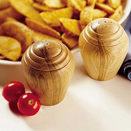 View a Larger Image of Woodworking Project Paper Plan to Build Turned Salt & Pepper Shakers