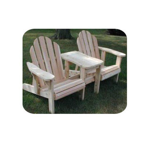 View a Larger Image of Woodworking Project Paper Plan to Build Twin Adjustable Adirondack Chair