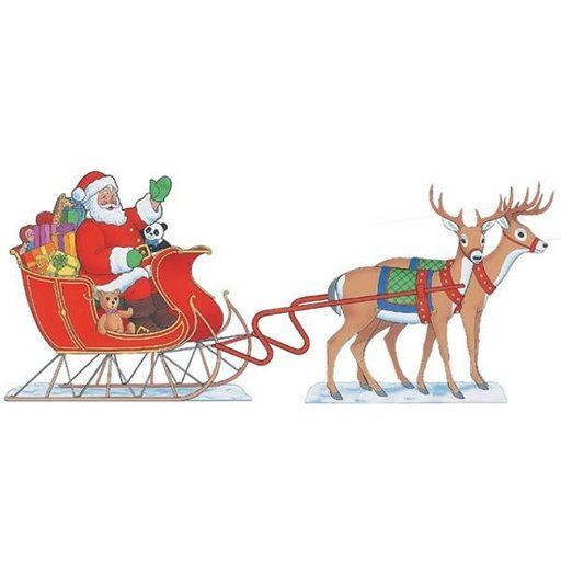 View a Larger Image of Woodworking Project Paper Plan to Build Two Reindeer, Plan No. 920