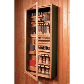 Wood Magazine Woodworking Project Paper Plan To Build Universal Wall Cabinet