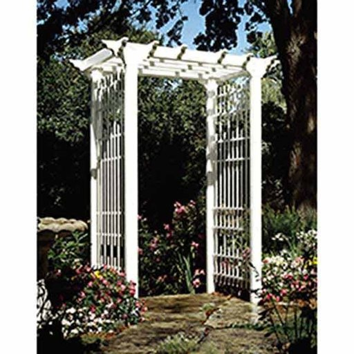 View a Larger Image of Woodworking Project Paper Plan to Build Victorian Arbor