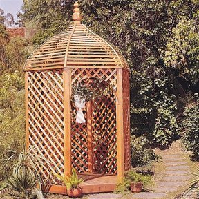 Woodworking Project Paper Plan to Build Victorian Gazebo, Plan No. 603