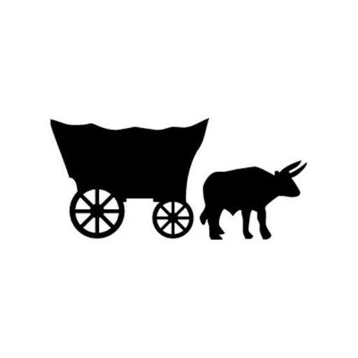 View a Larger Image of Woodworking Project Paper Plan to Build Wagon and Ox Shadow