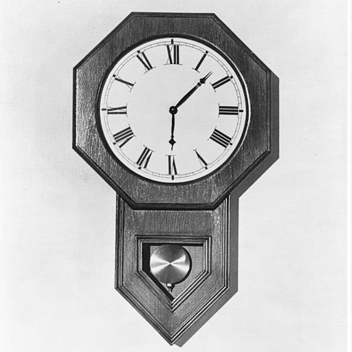 View a Larger Image of Woodworking Project Paper Plan to Build Wall Clock, Plan No. 530