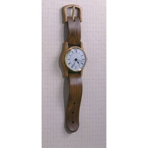 View a Larger Image of Woodworking Project Paper Plan to Build Wall-hung Wristwatch