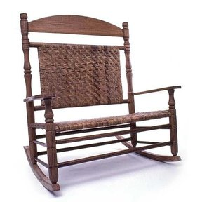 Woodworking Project Paper Plan to Build Wedding Double Rocking Chair, AFD122