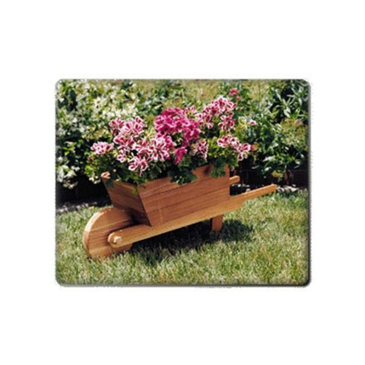 U Bild Woodworking Project Paper Plan To Build Wheelbarrow Planter