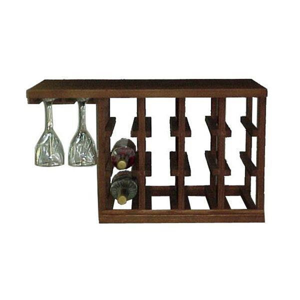 View A Larger Image Of Woodworking Project Paper Plan To Build Wine Glass Rack