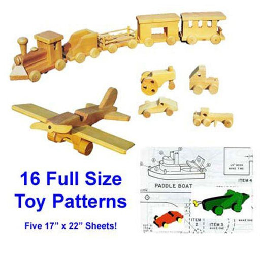 View a Larger Image of Woodworking Project Paper Plan to Build Wooden Toy