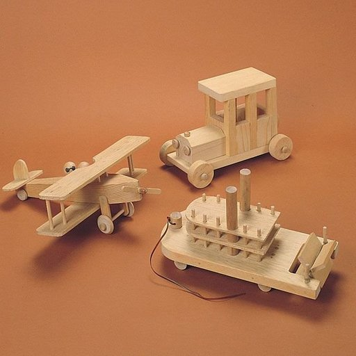 View a Larger Image of Woodworking Project Paper Plan to Build Wooden Toys, Plan No. 632