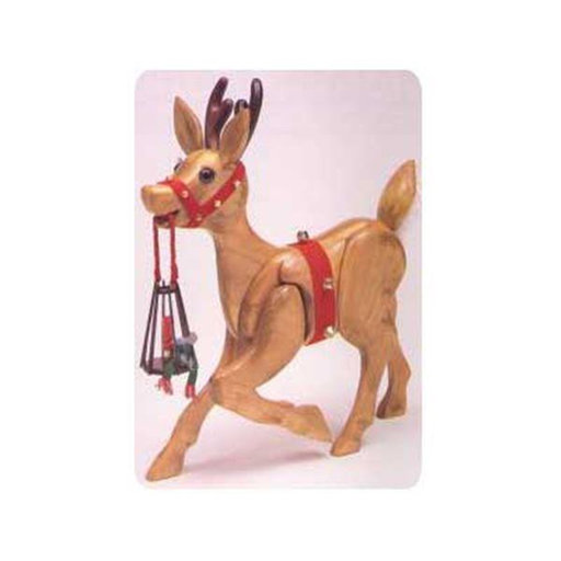 View a Larger Image of Woodworking Project Paper Plan to Build Woodolph the Reindeer