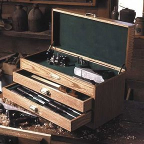 Woodworking Project Paper Plan to Build Woodworkers Tool Chest