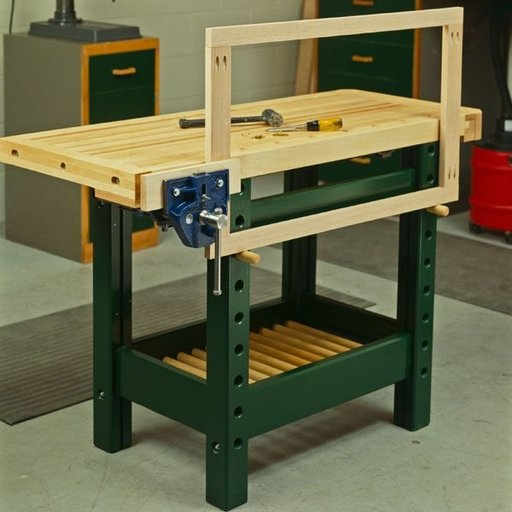 View a Larger Image of Woodworking Project Paper Plan to Build Workhorse Workbench