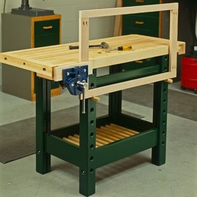Woodworking Project Paper Plan to Build Workhorse Workbench