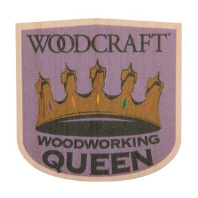 Woodworking Queen Maple Sticker