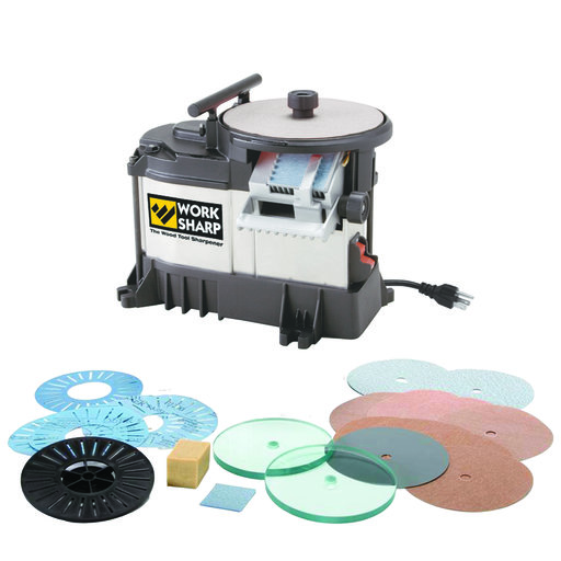 View a Larger Image of Work Sharp 3000 Woodworking Tool Sharpener