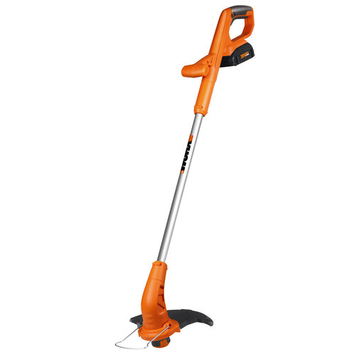 "View a Larger Image of 10"" 20V Li-ion Cordless Grass Trimmer/Edger with Fixed Shaft, Model WG154"