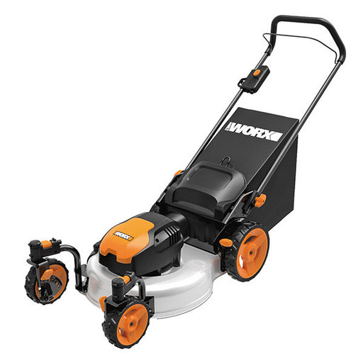 "View a Larger Image of 19"", 13 Amp, Electric Lawn Mower, WG719"