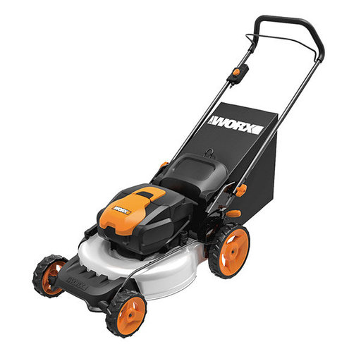 "View a Larger Image of 19"", 56V Power Share, Cordless Electric Mower , WG772"