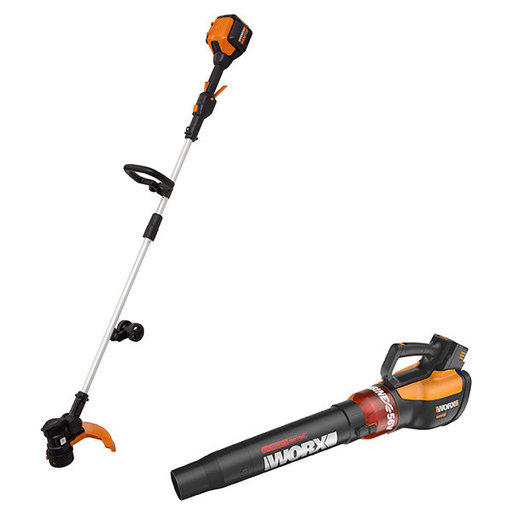View a Larger Image of 56V Lithium-Ion 2-Piece Combo Kit, Trimmer and Blower