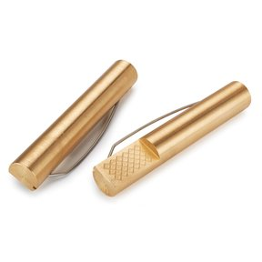 "WR Brass Bench Dogs Pr 4-3/8"" x 3/4"""