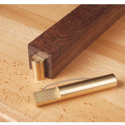 """View a Larger Image of Brass Bench Dogs Pr 4-3/8"""" x 3/4"""""""