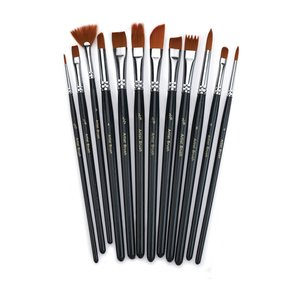 WR Paint Brush Set 12pc