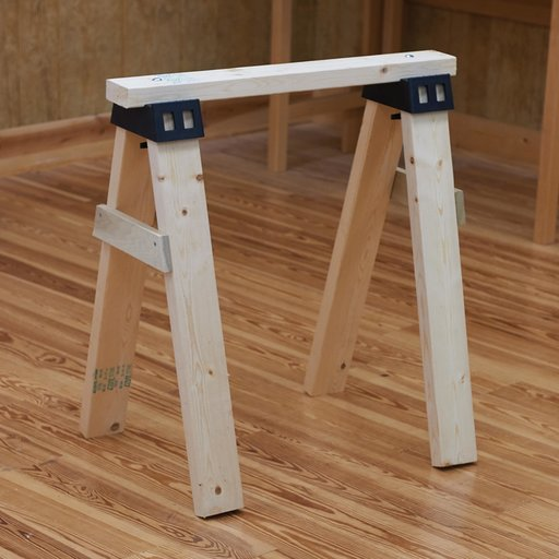 View a Larger Image of Sawhorse Brackets Pair