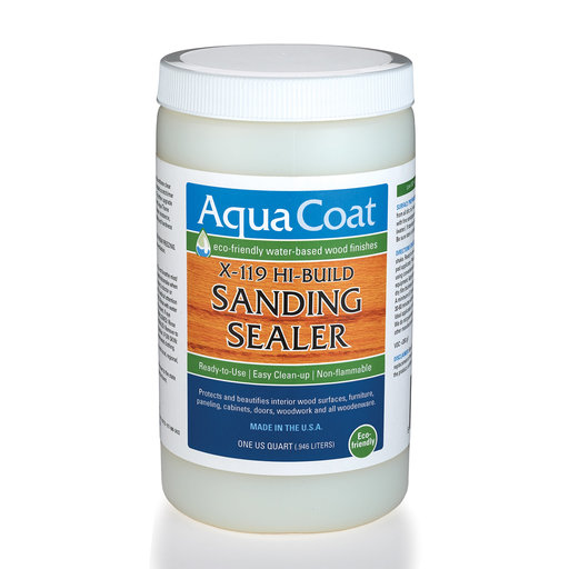 View a Larger Image of Clear Water Based Sanding Sealer Quart