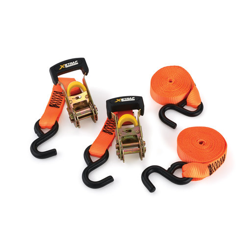 View a Larger Image of Xstrap Heavy Duty Ratchet Tie Down, 2 pack
