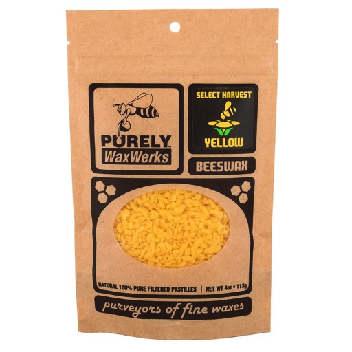 View a Larger Image of Yellow Beeswax Pastilles 4oz