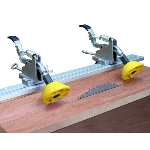 View a Larger Image of Yellow One-Direction Anti-Kickback Safety Rollers