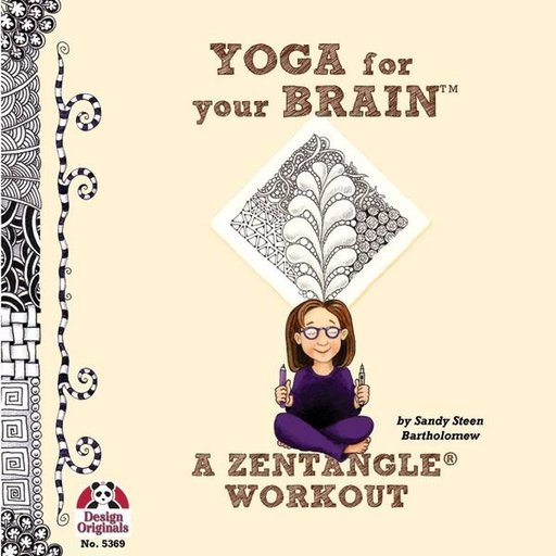 View a Larger Image of Yoga For Your Brain with Zentangle