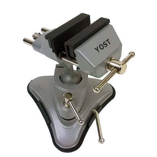 "View a Larger Image of 2.75"" Portable Multi-Angle Pivoting Vise with Vacuum Base, Model V-275"