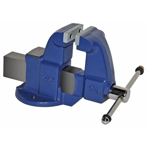 "View a Larger Image of 3-1/2"" Heavy Duty Machinists' Vise with Stationary Base, Model 103.5"
