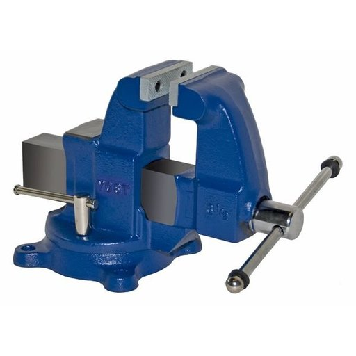 "View a Larger Image of 3-1/2"" Heavy Duty Machinists' Vise with Swivel Base, Model 203.5"
