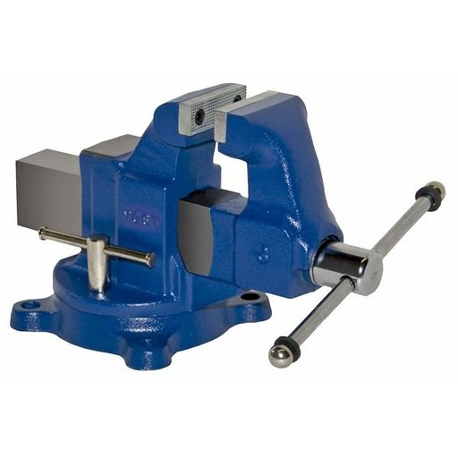 "View a Larger Image of 3"" Heavy Duty Machinists' Vise with Swivel Base, Model 203"