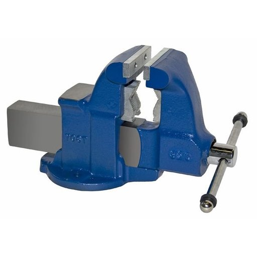 "View a Larger Image of 4-1/2"" Heavy Duty Combination Pipe and Bench Vise with Stationary Base, Model 132C"