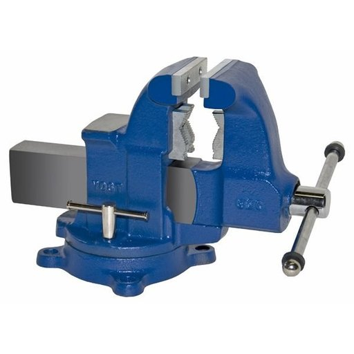 "View a Larger Image of 4-1/2"" Heavy Duty Combination Pipe and Bench Vise with Swivel Base, Model 32C"